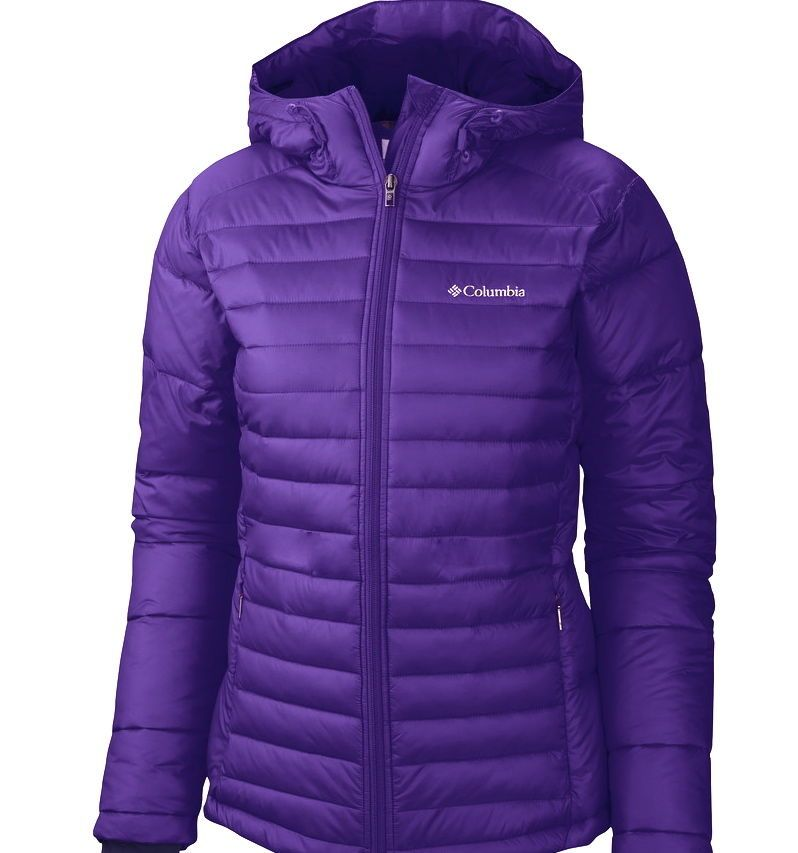 Columbia Womens Insulated Winter Jacket Coat Nwt Purple In