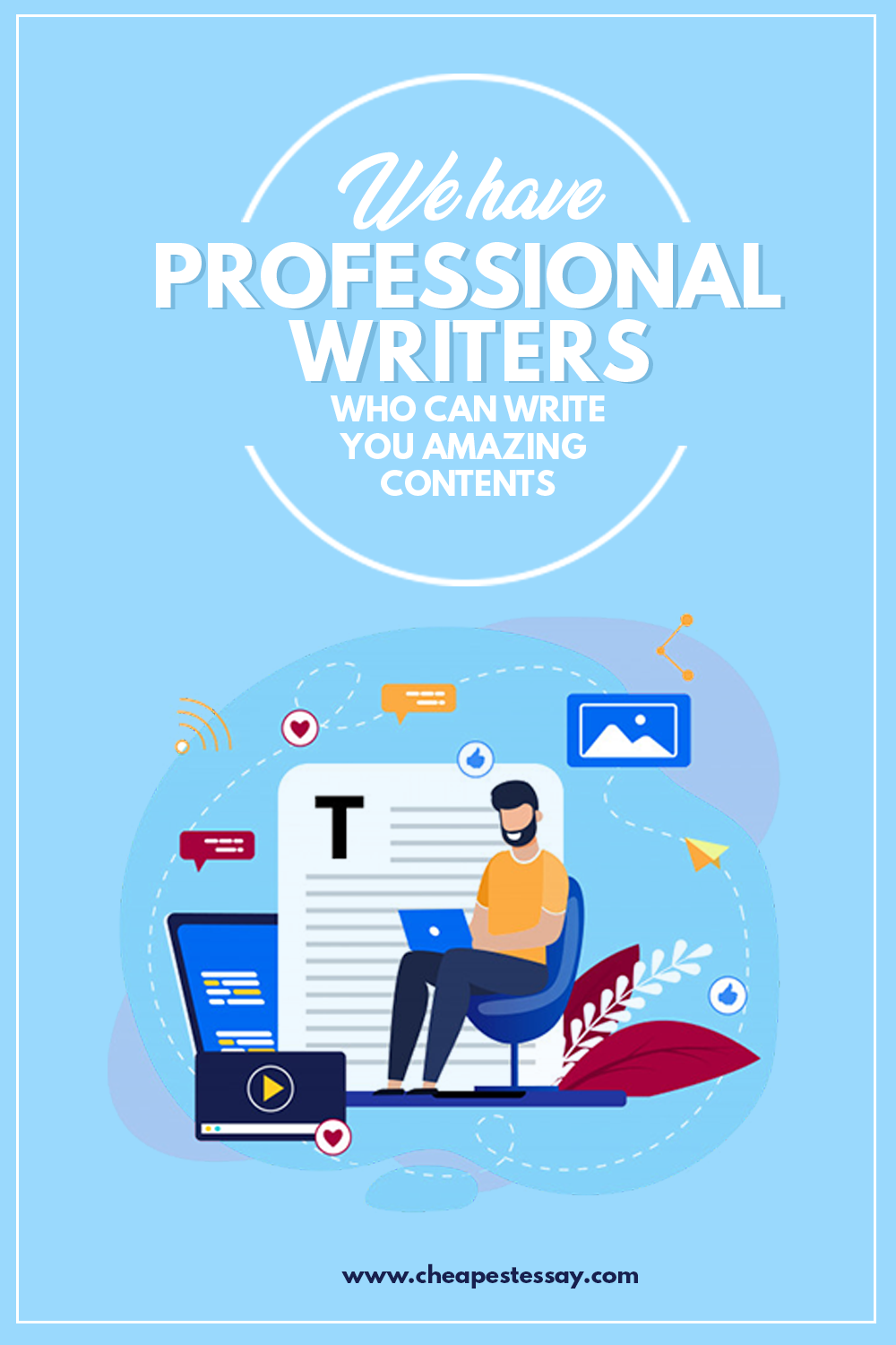 Cheapest Essay Has Professional Content Writers For Hire In 2020 Writing Services Essay Writing Essay