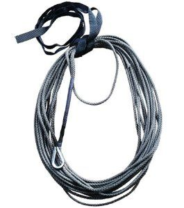 Charcoal 3 16 Amsteel Blue 50 Atv Cable Rope By Custom Accessories 50 00 3 16 Amsteel Is Rated For An Average Str Synthetic Winch Rope Winch Rope Atv Winch