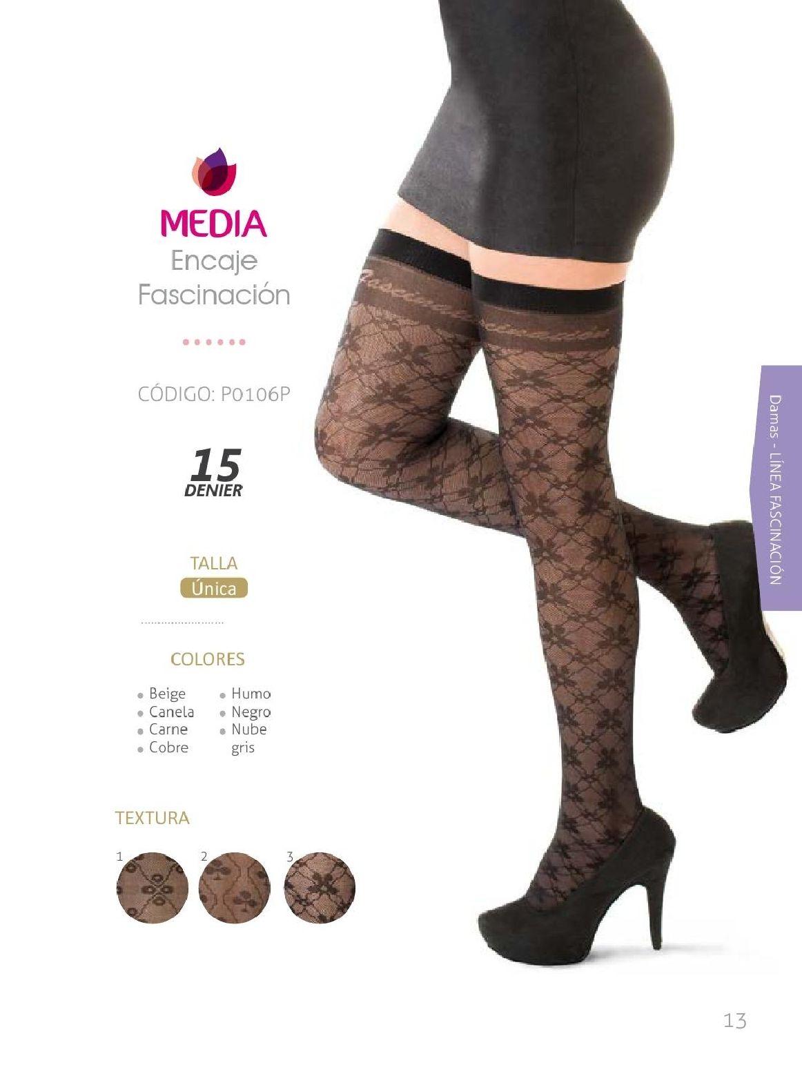 Medias Fascination  Tres Estrellas Coleccion 13   #MediasFascination