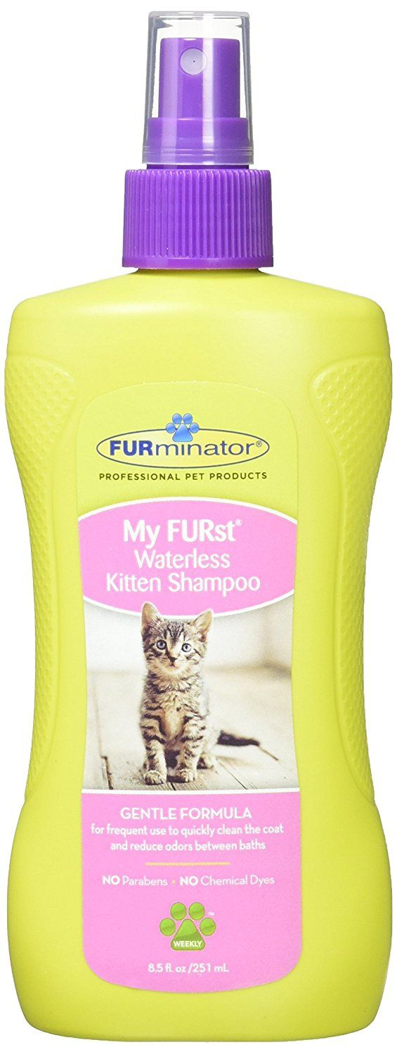 Furminator My Furst Waterless Kitten Shampoo Details Can Be Found By Clicking On The Image This Is An Affiliate Li With Images Waterless Shampoo Furminator Waterless