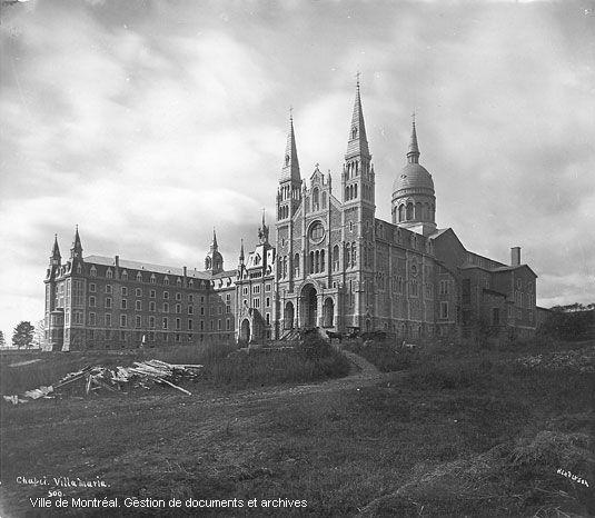 Maison-mère Congrégation Notre-Dame, built in 1880 building demolished