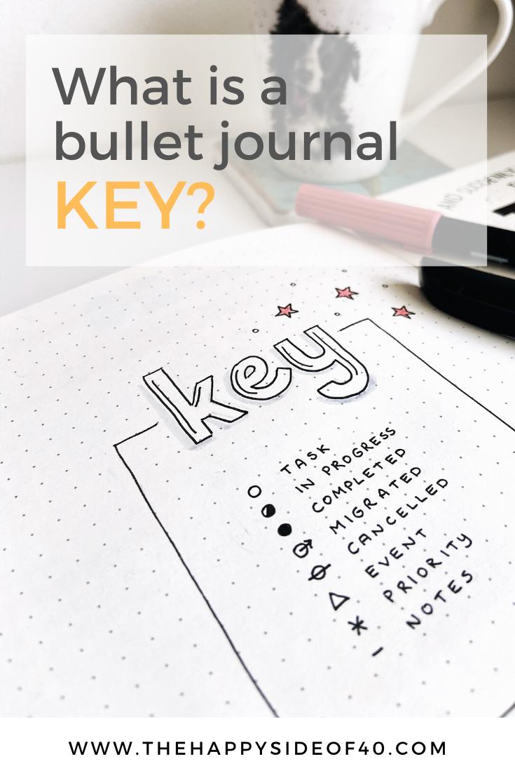 Bullet Journal Basics: What is a Bullet Journal Key?