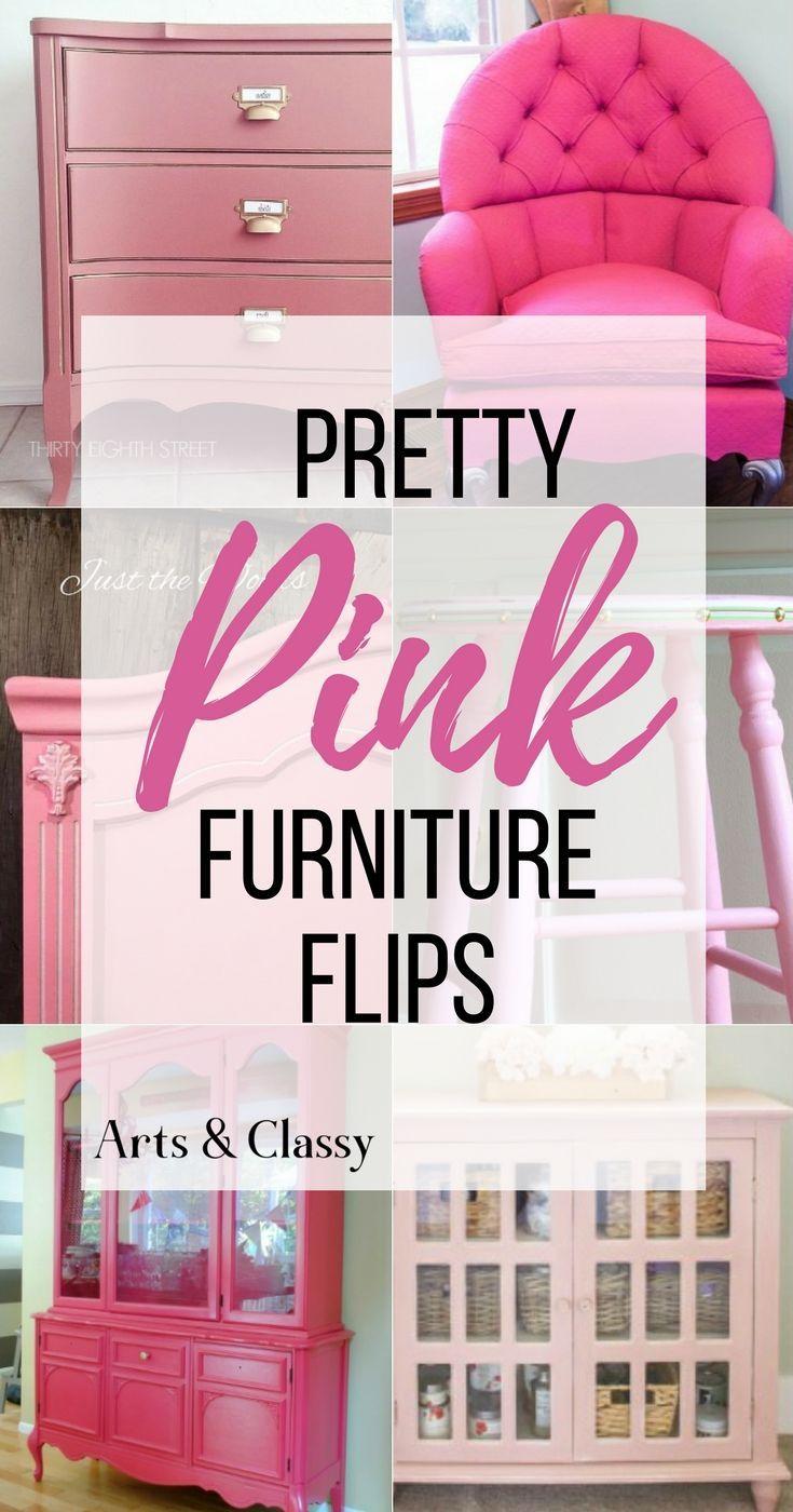 Pretty Pink Furniture Flips | ! DIY- HOUSE BEAUTIFUL ! | Pinterest ...