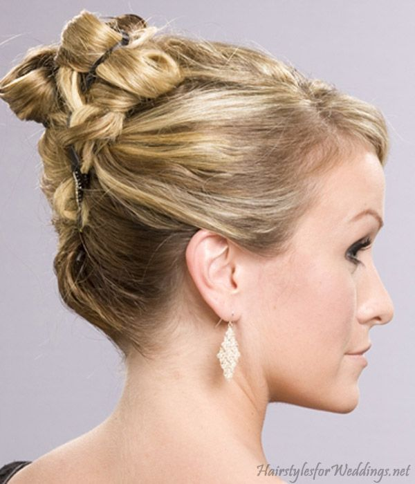 Surprising 1000 Images About Wedding Hair Up Do39S On Pinterest Short Hairstyles Gunalazisus