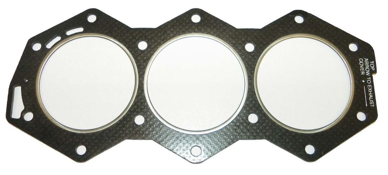 Evinrude 85-235 Hp V6 Xflow Bypass Cover Gasket 520-03 OEM 0322858 WSM Johnson