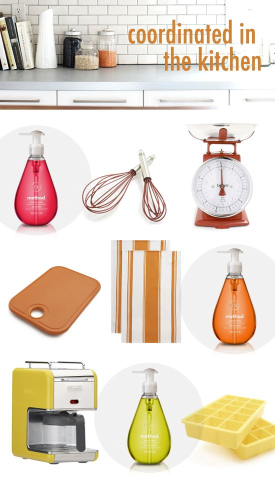 Colorful Kitchen Supplies: COLOR METHOD (With Images)