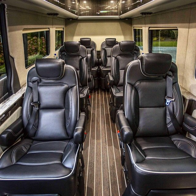 The Airstream Autobahn Sprinter Van W Apple Tv Interior Conversion Mercedes Benz Sprinter