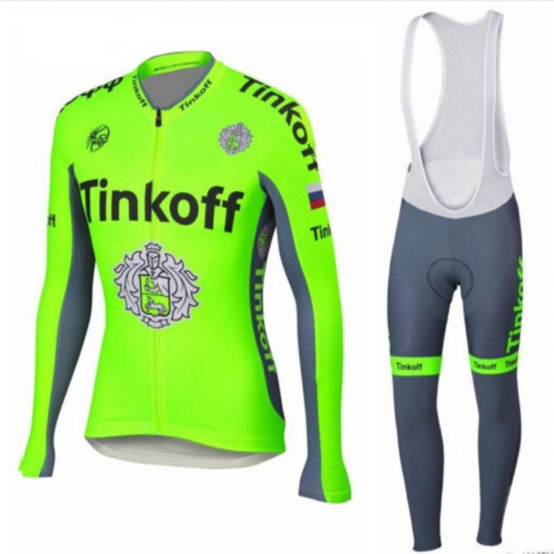 Clothing · Factory direct sale!Quick dry SaxoBank Tinkoff long sleeve  cycling ... 5e88c365d