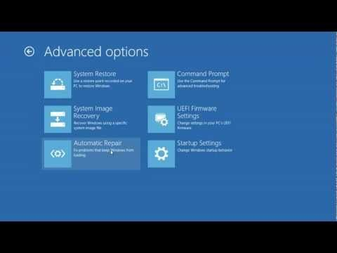 Windows 8 Accessing The Uefi Bios Setup System Restore