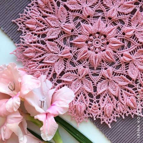 Beautiful Crochet Doily♥ Deniz