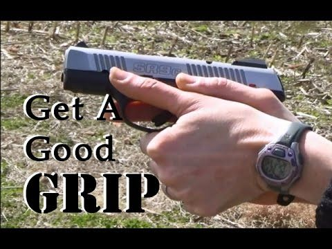 Pistol Grip: Properly Gripping a Semi-Auto - YouTube