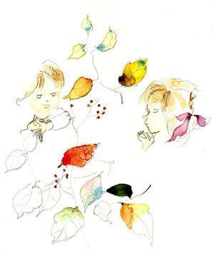 画像 : 更新!【いわさきちひろ・ギャラリー】 「子どもの幸せと平和」をテーマとした水彩画の絵本作家 - NAVER まとめ