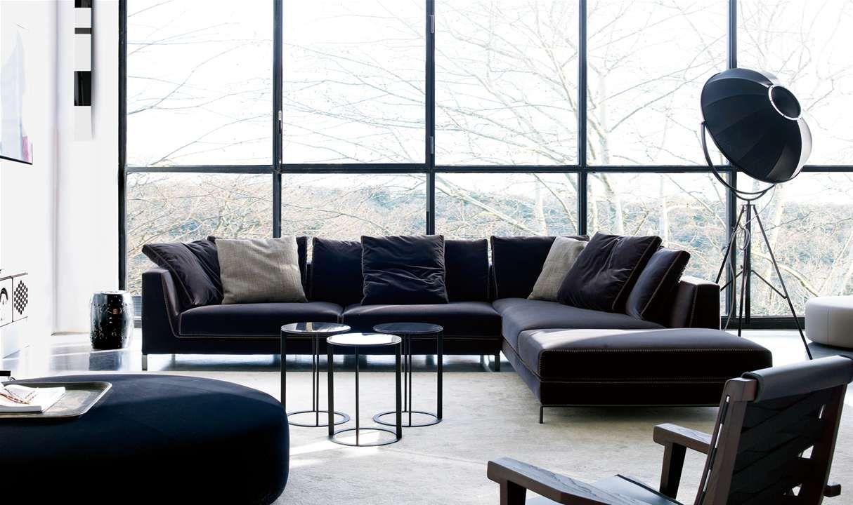 Sofa: RAY - Collection: B&B Italia - Design: Antonio Citterio ...