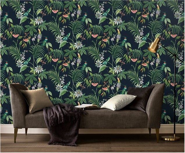 Tapete Tropical Leaves New Wallpaper Home Decor Interior