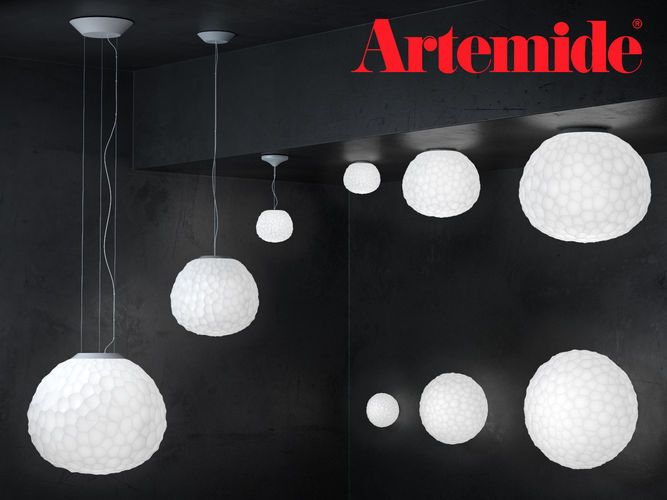Meteorite by Artemide Suspension and Wall 3D model