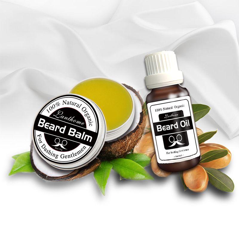 Efectiva 100% Orgánico Natural Aceite más barba Barba Barba Licencia Acondicionador Styling cuidado de cera bálsamo Efecto Hidratante
