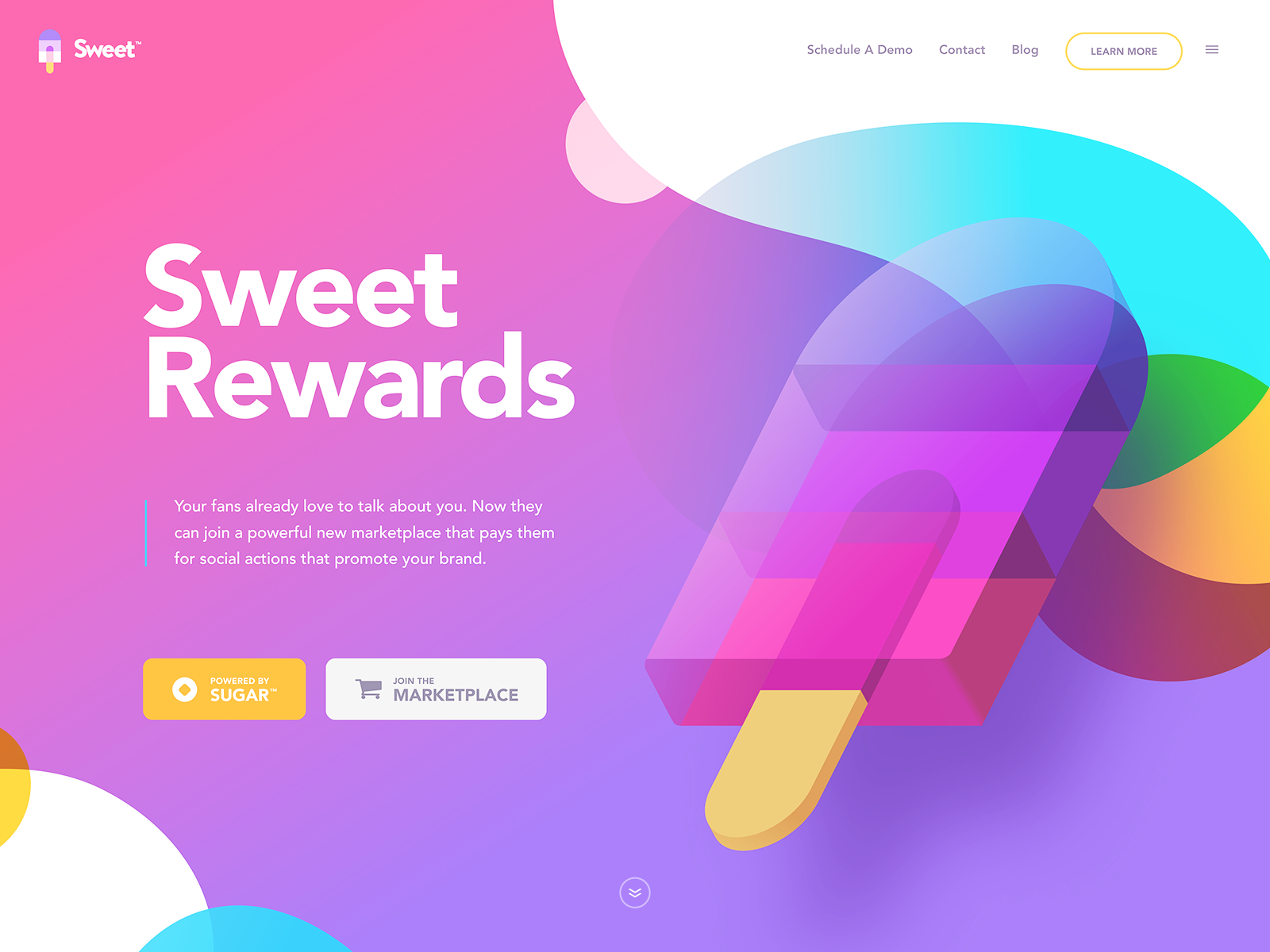 Sweet Interactive Design Interface Design Trends Web Design Trends