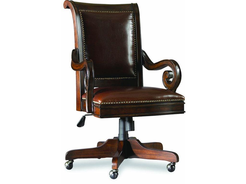 hooker furniture home office tilt swivel chair 374 30 220 at hickory rh pinterest com