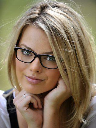 162a6b62444 Model  Margot Robbie  pinner  George Pin Ladies Glasses Frames