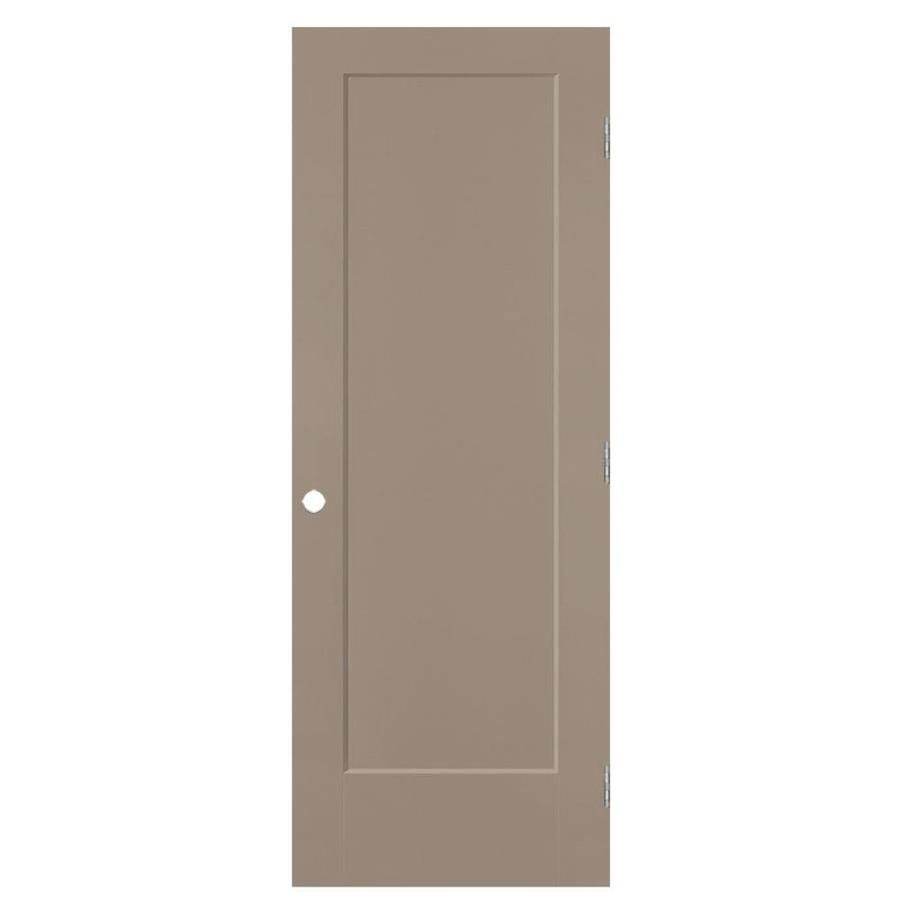 Masonite Lincoln Park Sand Piper 1 Panel Square Hollow Core Molded Composite Pre Hung Door Common 36 In X 80 In Actua In 2020 Shaker Style Doors Lowes Home Improvements Locker Storage