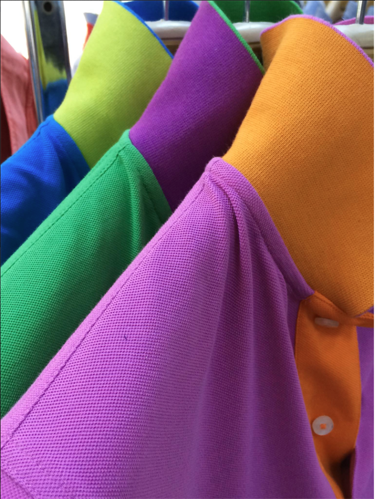"#HammersTravels - I'm still in Istanbul and told the manufacturer the temperature back in Minneapolis. To no surprise he asked, ""How can you sell short sleeves in that climate?"" Hopefully, the bold colors of the new polo collection from Hammer Made will help us keep the faith for warmer weather ahead!"