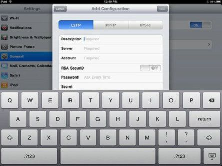 How To Setup Vpn On Ipad 2
