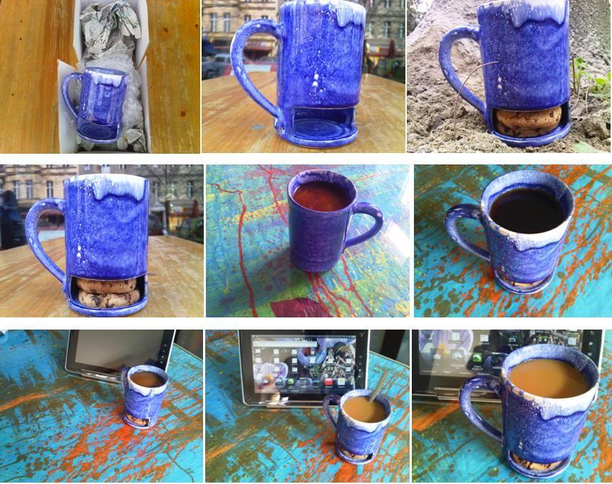 Durch die Inspiration siehe oben weisse Tasse, habe ich mir eine nachbauen lassen. Jetzt fuer die Ewigkeit auch hier in Pinterest :)