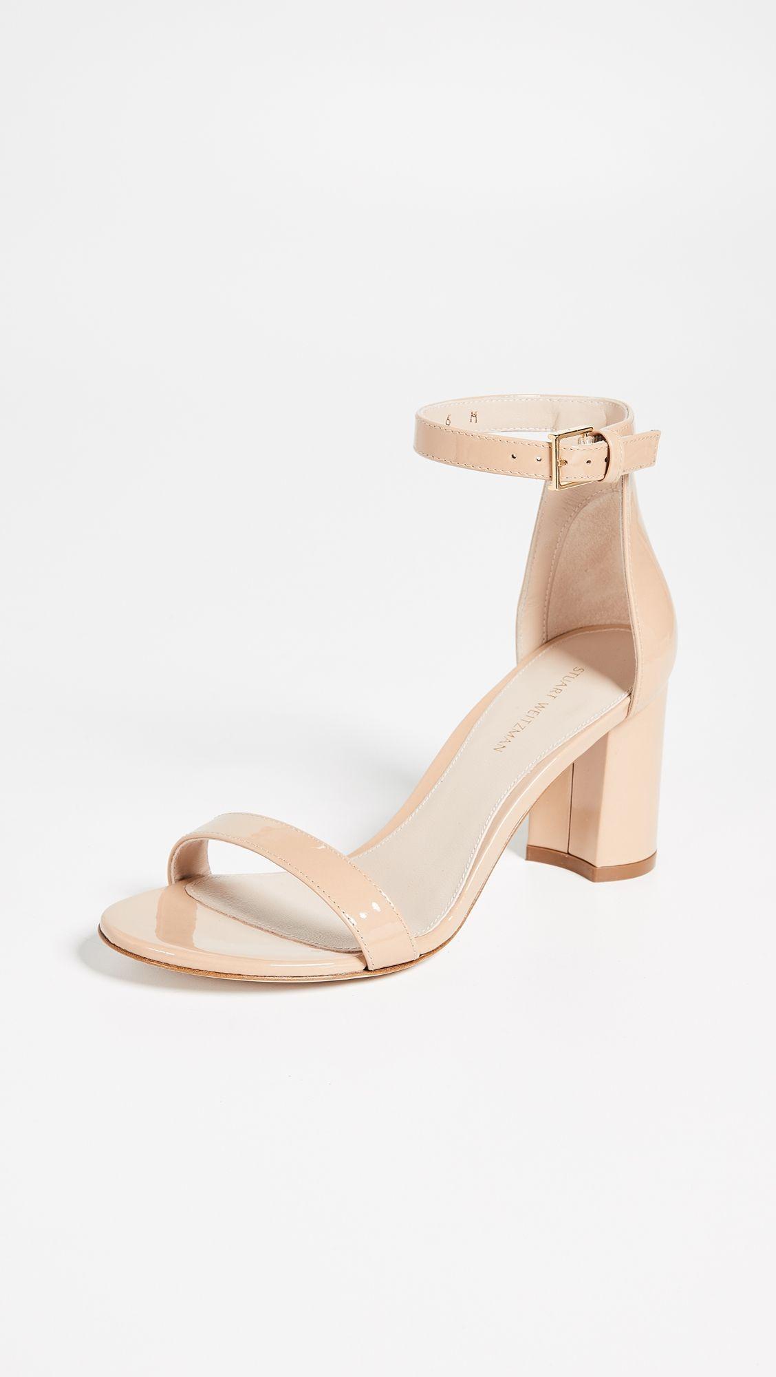 01c8b8cdee8b4 Stuart Weitzman 75mm Less Nudist Sandals