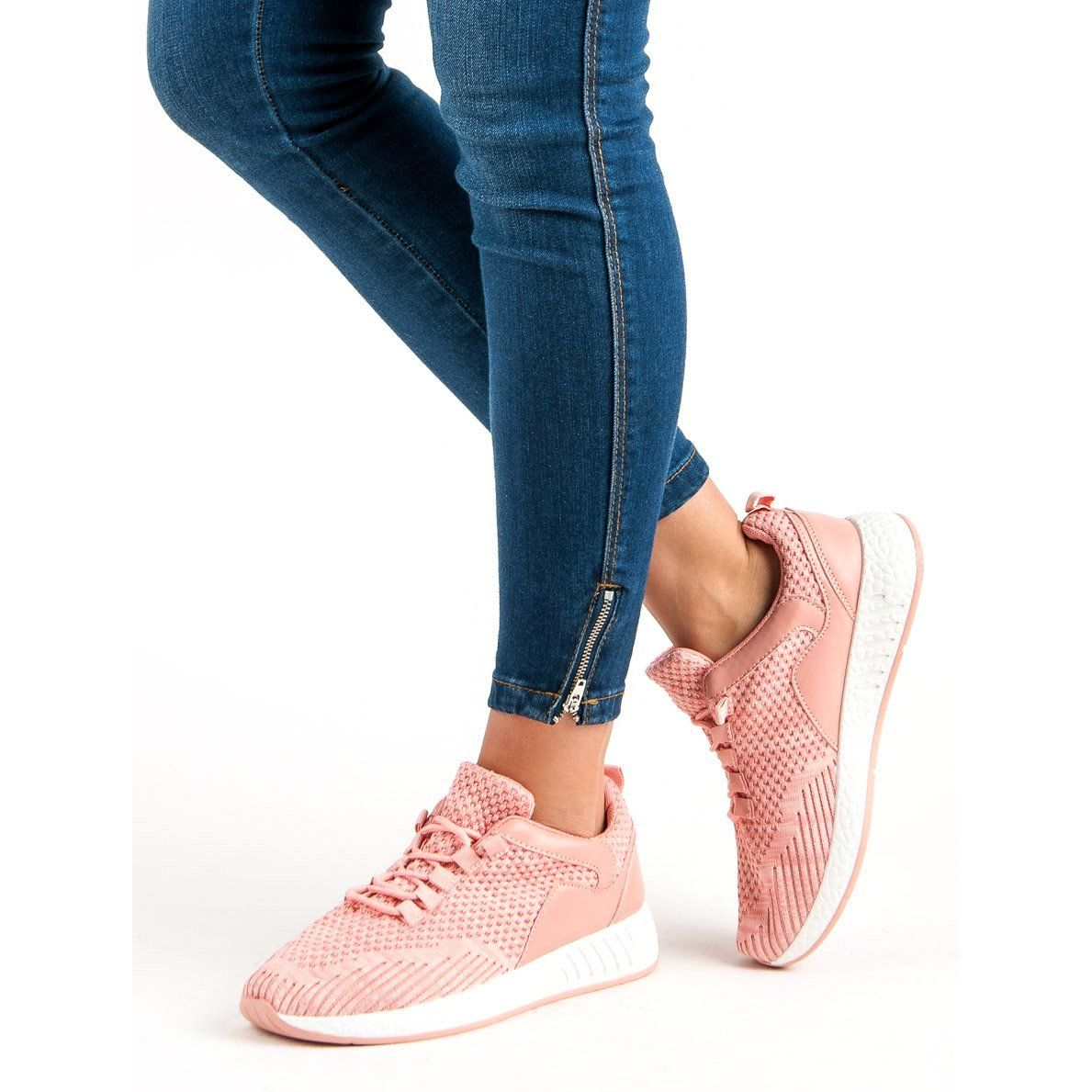 Lekkie Buty Sportowe Rozowe Shoes Puma Sneaker Fashion