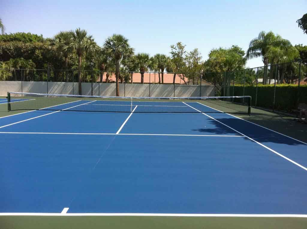 Tennis Court Conversions In Florida Http Www Sportsurfaces Com Tennis Court Conversions Tennis Court West Palm Beach Florida Palm Beach Florida