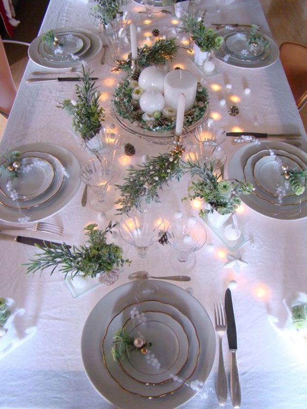 19 preciosas mesas para la cena de Nochevieja para inspirarnos a decorar la nuestra #dekoweihnachtentisch