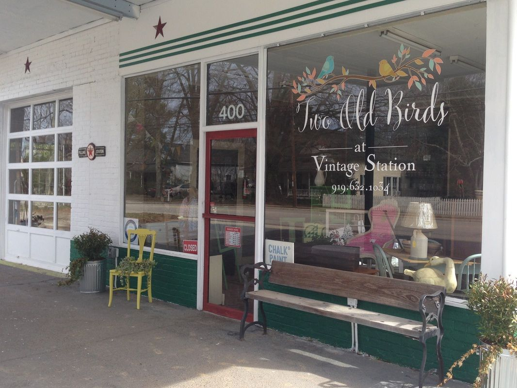 Raleighu0027s ONLY Source For Annie Sloan Chalk Paint. ~ Two Old Birds, Apex, · High  Point North CarolinaRed ...
