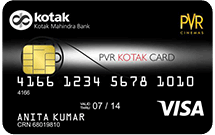 Kotak Pvr Platinium Credit Card Gives Multiple Discounts Upto Rs