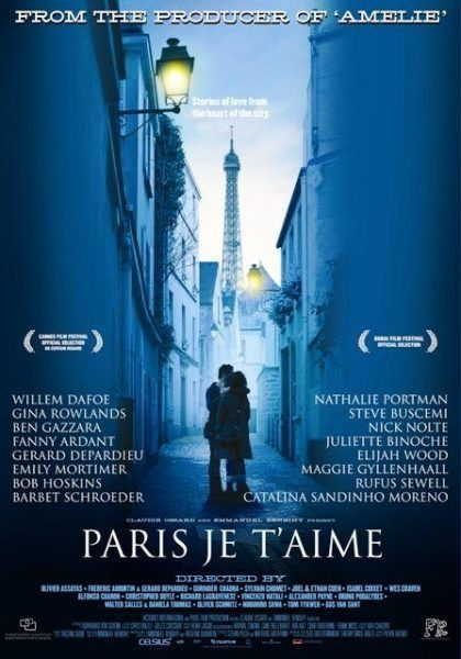 29 French Films to watch ... Paris, Je t'Aime (Paris, I Love You) - Directed by Olivier Assayas, Frédéric Auburtin