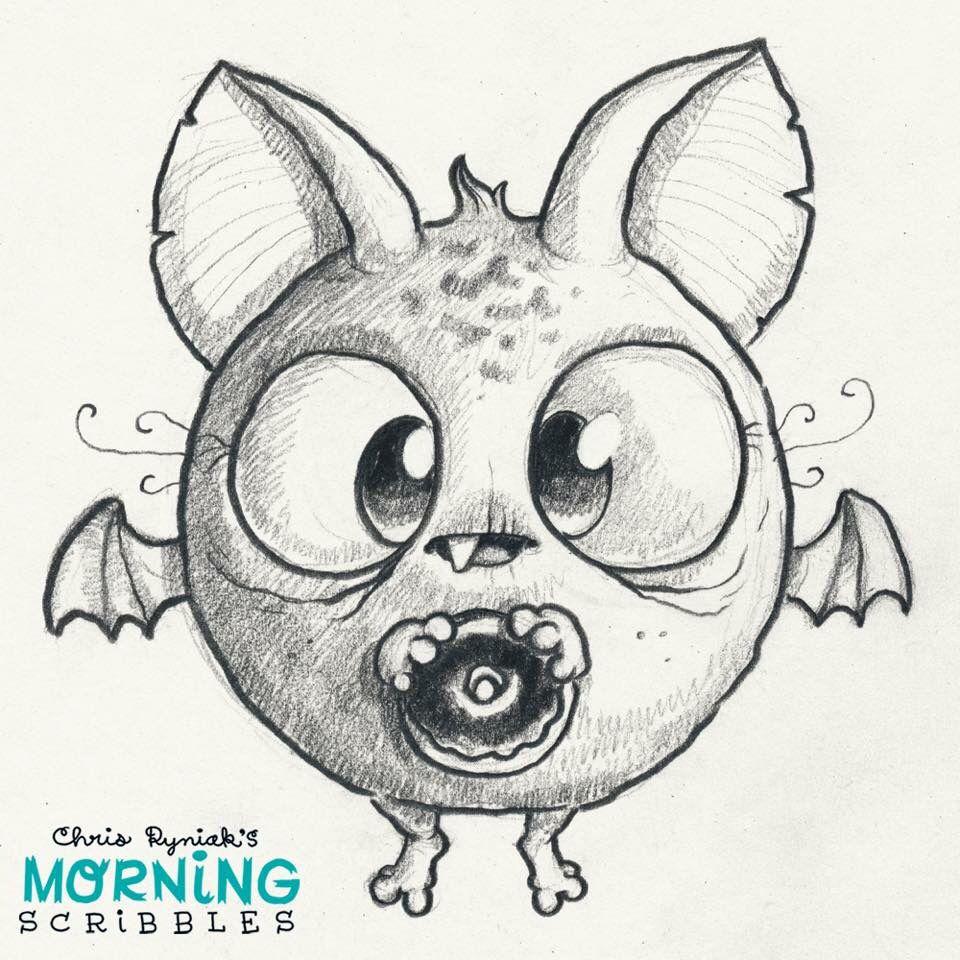 Cute Scary Monster Drawings
