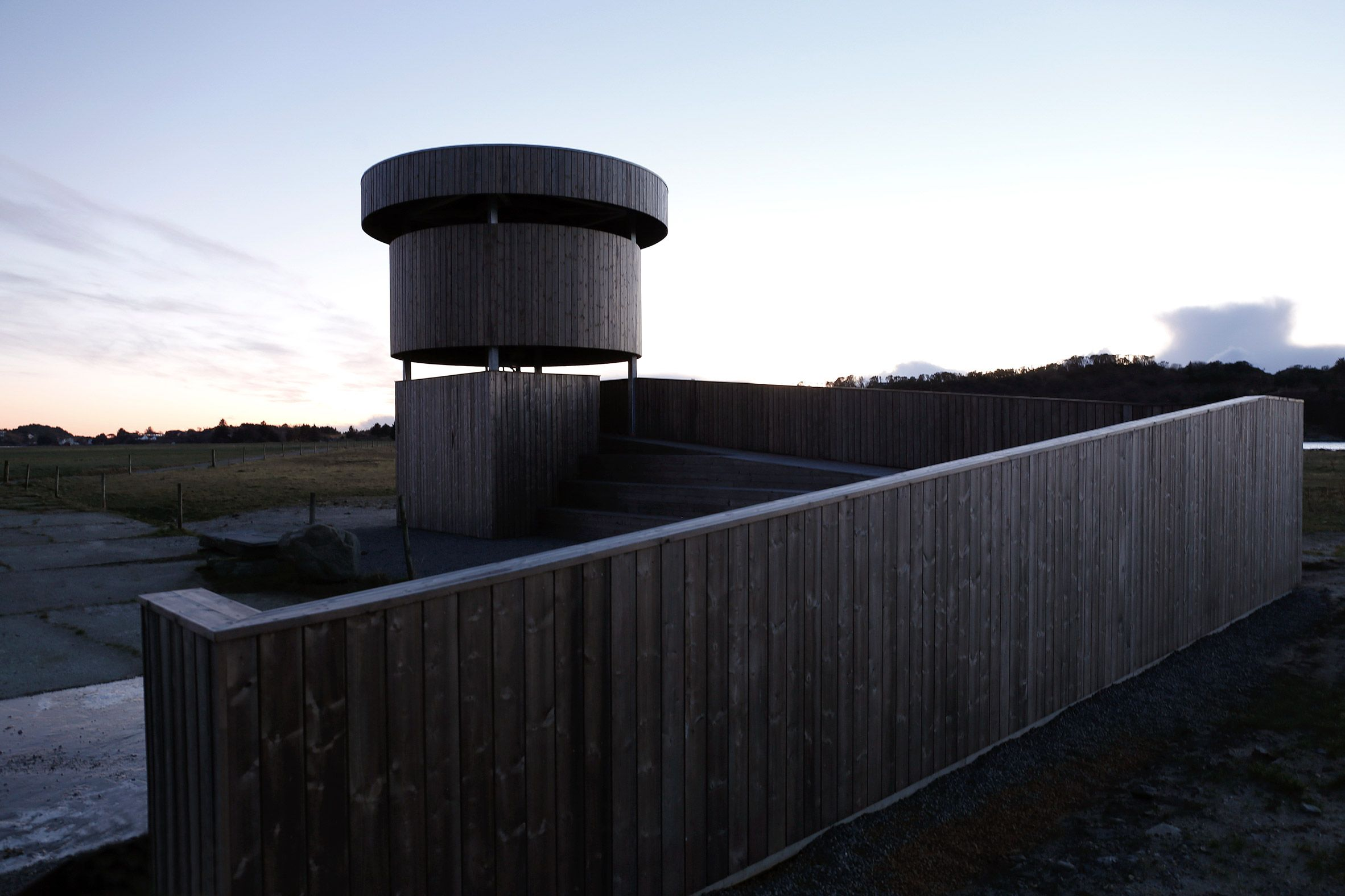 Herdla Birdwatching Tower By Ljb Arkitektur Arcitecture  # Muebles Calle Fatima