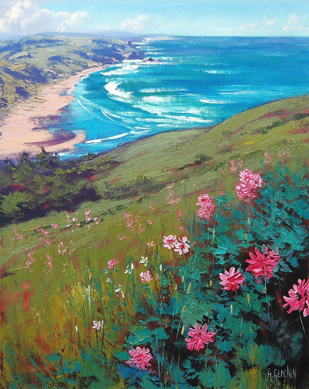 Beautiful Australian Landscape Oil Paintings -  Graham Gercken is an award winning Australian landscape painting artist who was born in 1960. He is - #australian #beautiful #IndianPaintings #landscape #oil #OilPaintings #Paintings