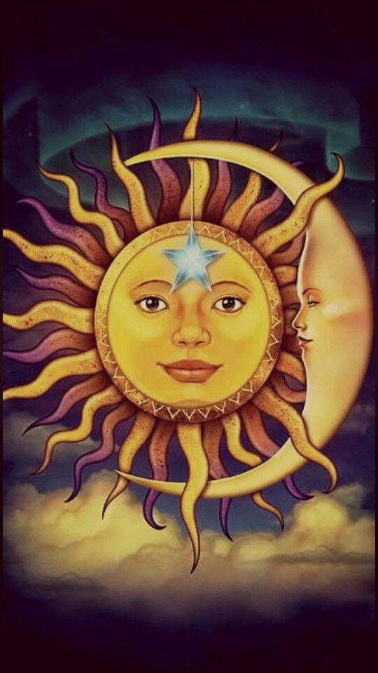 sun and moon wallpaper wallpapers sun moon moon sun moon