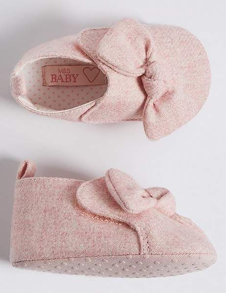 Marks and Spencer Baby Knot Pram Shoes