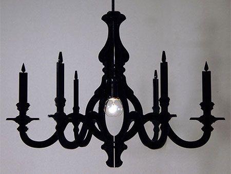 Home-Dzine - Make a cardboard chandelier (DIY tutorial with free ...