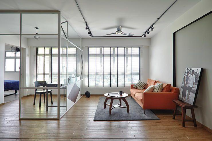 This scandinavian themed home keeps its decor modest for Scandinavian design reno