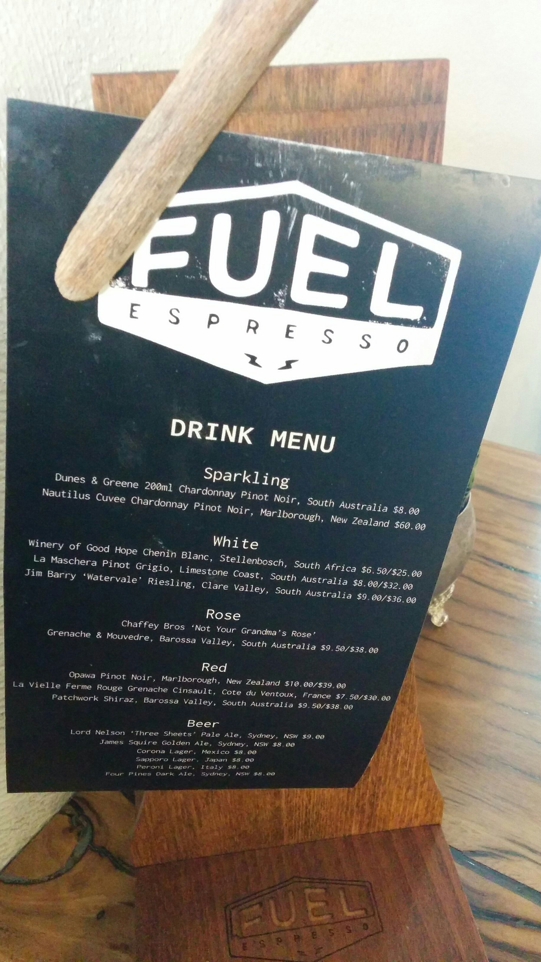 FUEL ESPRESSO BAR IN THE HEART OF BROOKIE!