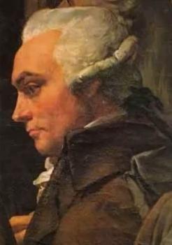 Détail du tableau des Etats généraux , Maximilien Robespierre