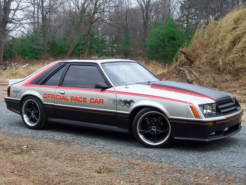 79 pace car 82 gt nose mustang love pinterest fox mustang cars and ford mustang. Black Bedroom Furniture Sets. Home Design Ideas