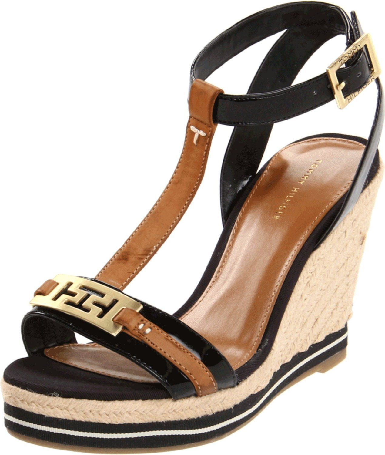 tommy hilfiger women 39 s daisie wedge espadrille if i. Black Bedroom Furniture Sets. Home Design Ideas