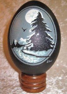 Winter's Moon Emu Egg
