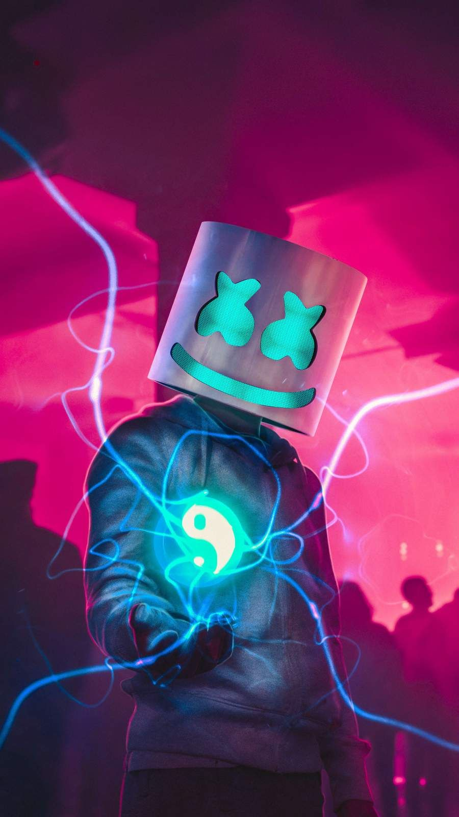 Marshmello Face iPhone Wallpaper (With images) Apple