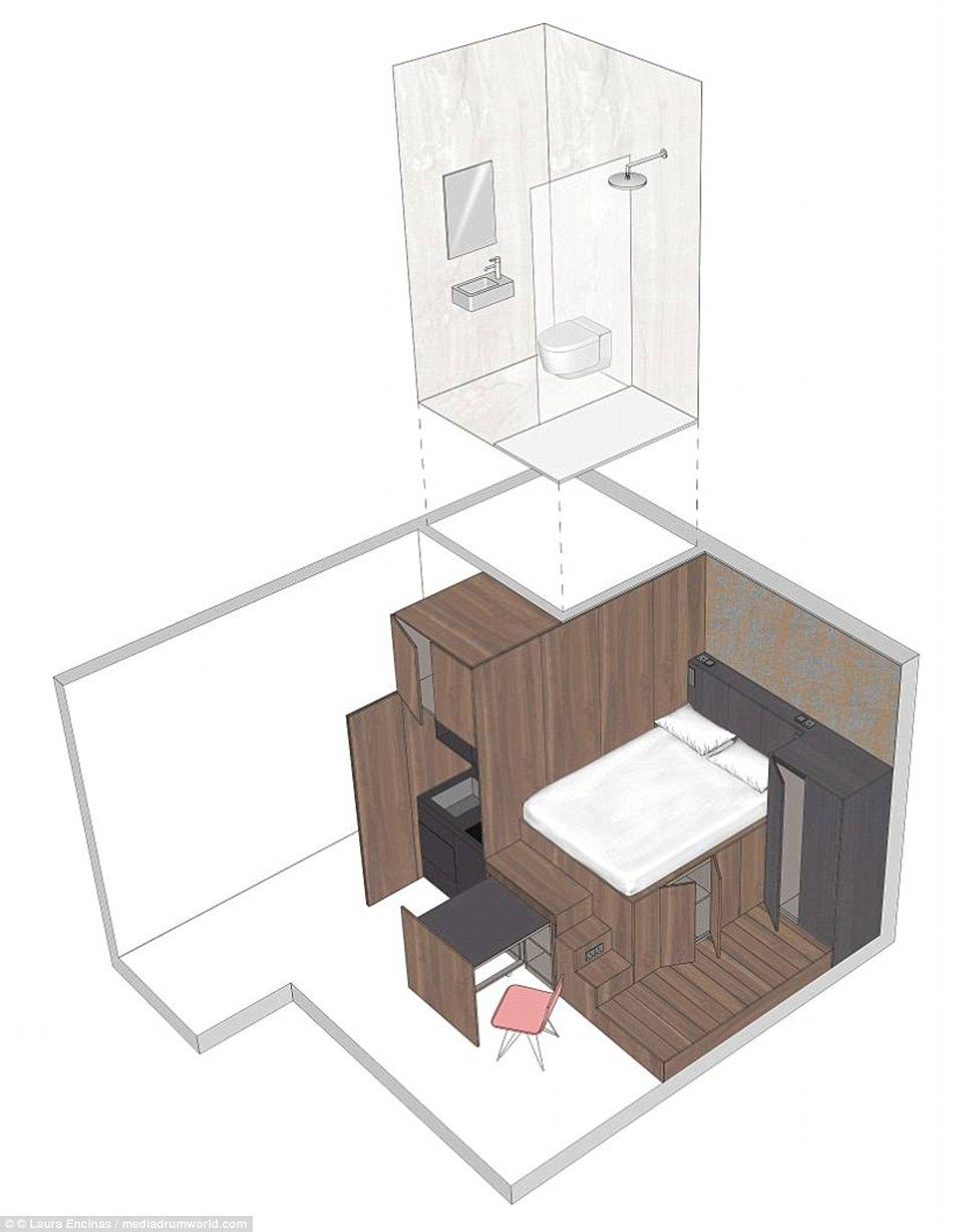 Two Floor Maisonette That S Eight Foot And Sleeps Six For