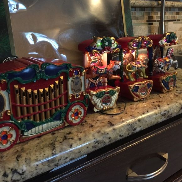 Christmas Decoration Mantels, Decoration and Customer support - christmas carousel decoration